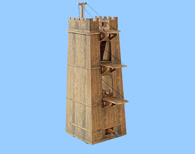 NOVELTY:<br>Roman Siege Tower